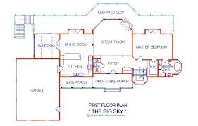 log cabins floor plans big sky log floor plan log cabin 3056 sq ft expedition log