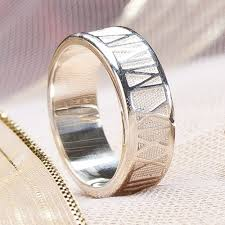 numeral ring numeral ring in precious metals