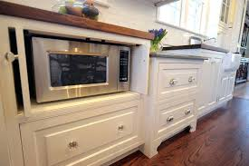 under cabinet microwave kitchen traditional with hidden flower