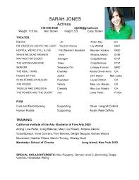musical theatre resume template musical theatre resume template foodcity me