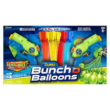 bunch of balloons zuru bunch o balloons 2 stealth soakers with 4 packs of bob and 2