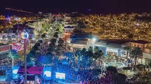 eve drop christmas lights beach ball drop tradition in panama city beach