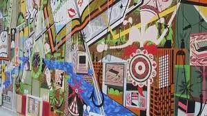 lari pittman artist paintings on panels the broad museum