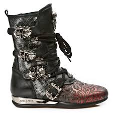 womens biker style boots new rock boots mens leather boots high heels