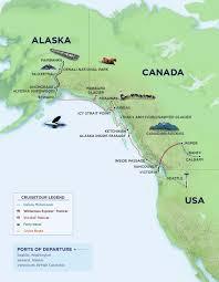 Canadian Rockies Map 2015 Alaska Canada And New England Cruises Royal Caribbean