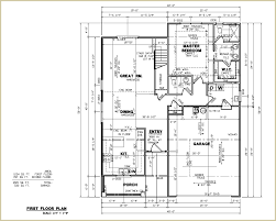 Custom Floor Plans For New Homes by Sample House Plans With Others Sample7 1st Floor Diykidshouses Com