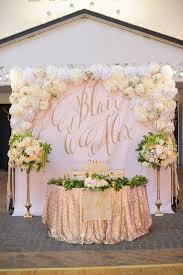 wedding backdrop gold wedding backdrop ideas bisou weddings and events