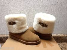 womens ugg boots ellee ugg maylin chestnut boots ebay