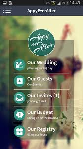 wedding planner apps appyeverafter wedding planner android apps on play