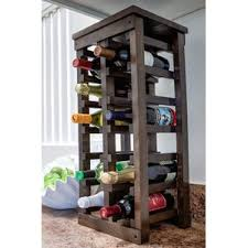 rustic wine racks you u0027ll love wayfair