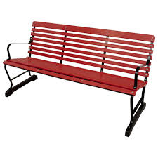aluminum outdoor benches patio chairs home depot