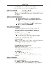 Resume Examples Warehouse by Cover Letter And Resume Template 20 Word Templates For Resume