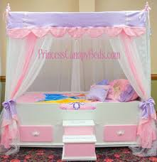 Disney Princess Toddler Bed With Canopy Princess Castle Toddler Bed Image Of Canopy Toddler Beds For
