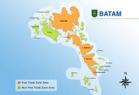 map batam about batam
