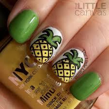 24 beautiful pineapple nail art designs 2015