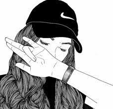 image result for easy black and white drawings lockscreen