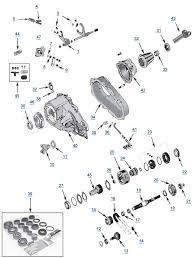 1987 1995 jeep yj wrangler transfer case parts 4wd com