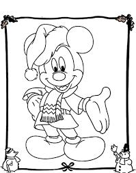disney christmas coloring pages coloringsuite