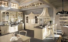 french country kitchen with shabby chic design shabby chic