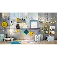 maison du monde chambre enfant sac de rangement motif chevron bleu léo maisons du monde chambre