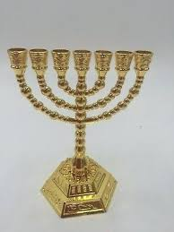 seven branch menorah 7 branch menorah silver plated seven branch menorah tribes of