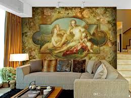 continental bare beauty wallpaper mural painting the living room see larger image