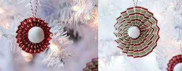 homemade paper pinwheel ornaments handmade ornament no 4