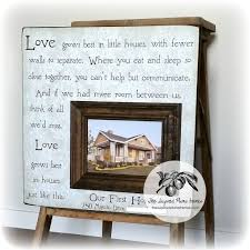 personalized housewarming gift new house gift first house gift