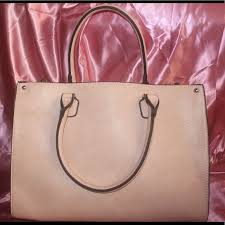 Light Pink Leather Purse 63 Off Wilsons Leather Handbags Gorgeous Big Light Pink Square