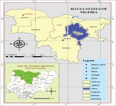 Map Of Nigerian States by Relationship Of Orbital Dimensions And Angles With
