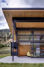 cool river bank house design by balance associates architects