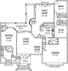 covered porch house plans 3 bedroom 3 bath house plan alp 099e allplans com