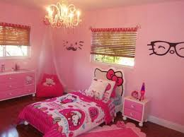 Luxurious Bedroom Decorated With Hello Kitty Theme Also Classy - Hello kitty bunk beds