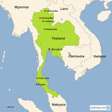 Phuket Thailand Map Thailand Map Thailand Wikipedia Map Thailand Vacation Tours