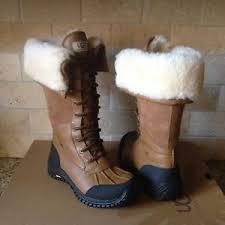 ugg adirondack ii otter winter boots s ugg adirondack ii otter leather waterproof boots