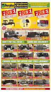 kitchener surplus furniture surplus furniture mattress warehouse kitchener flyer january 3