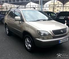 lexus harrier for sale toyota harrier 1999 suv 3 0l petrol automatic for sale limassol