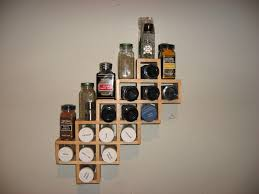 spice storage ideas for small kitchen pictures wall rack gallery