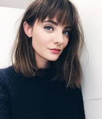 lob haircut with bangs the 25 best lob with bangs ideas on pinterest short hair with
