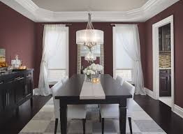 red walls in dining room trends with luxury home images