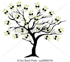olive tree branch olive tree eps vector search clip