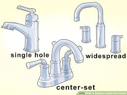 How To Change Faucet In Bathtub How To Replace A Bathroom Faucet 14 Steps With Pictures