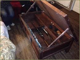 Plans For Gun Cabinet Hidden Gun Cabinet Furniture Plans Home Design Ideas