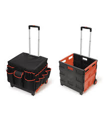 busy kids learning large foldable rolling craft cart joann