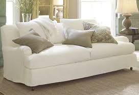 white slipcovers for sofa the pottery barn basic slipcovered sofa saga confessions intended