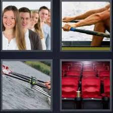4 pics 1 word people canoe people paddling