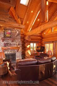 Log Homes Interiors 95 Best Log Home Interior Images On Pinterest Log Cabins Log
