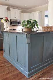 blue gray painted kitchen cabinets our painted kitchen cabinets southern hospitality