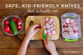 childrens kitchen knives safe kid friendly knives that actually cut nourishing