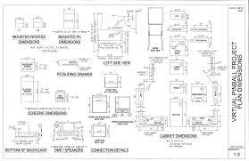 Tankstick Cabinet Plans Ultimate Arcade Cabinet Plans Pdf Scifihits Com